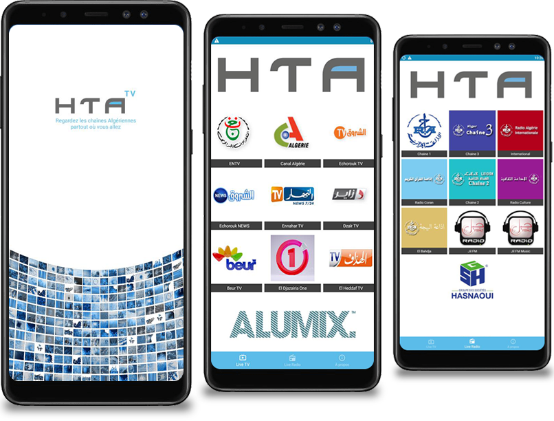 Application mobile HTA tv